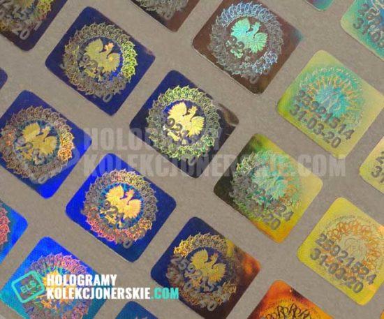hologramy kolekcjonerskie els 2020