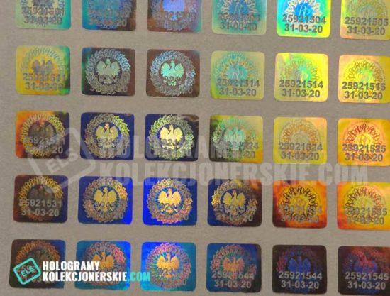 hologramy kolekcjonerskie 2020
