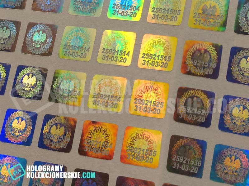Hologramy kolekcjonerskie na allegro, olx, gumtree