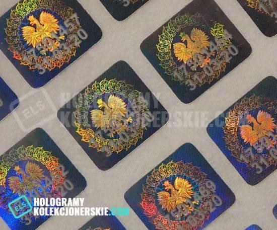 aktualny hologram kolekcjonerski